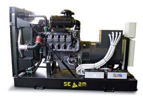Groupe électrogène industriel
