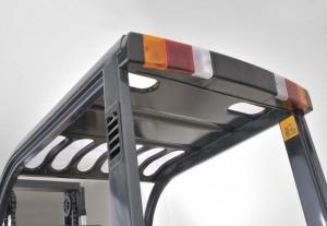 dispositif d'arrêt automatique pour ce chariot élévateur